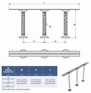 Shear Reinforcement Rails
