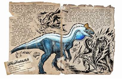 Ark Cryolophosaurus Additions Mod Gamepedia Creatures Survival