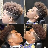 Light Fade Haircut Black Men