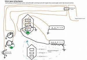 Jaguar Wiring Mod  Series  Parallel  Both Pickups To Rhythm