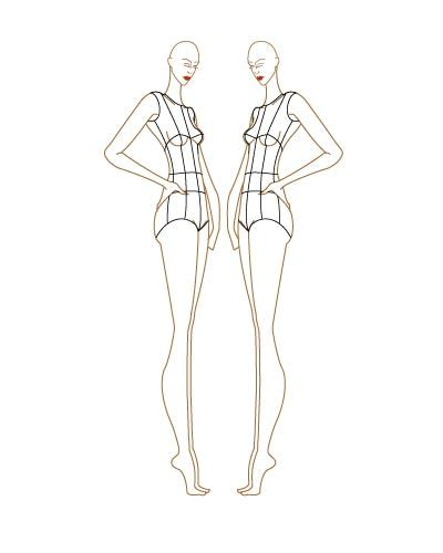 fashion sketch template fashion sketch templates thinkitpink