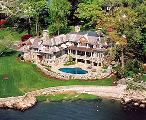 Stunning French Country Waterfront Estate In Darien, CT