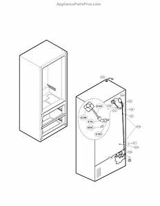 Parts For Lg Lmx25964st    02  Ice Maker Parts