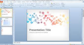 design templates for powerpoint free abstract squares powerpoint template