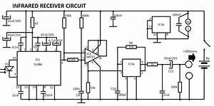 infrared receiver circuit with bpw41n With circuit receiver