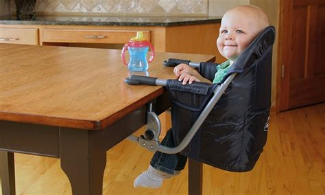 regalo attachable high chair regalo easy diner high chair groupon goods