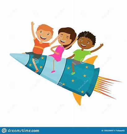 Learning Fun Together Rocket Children Fly Progress