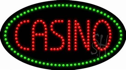 Casino Sign Animated Led Signs Neon 1000