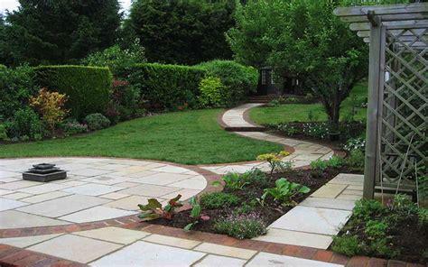 Sloping Garden Design Ideas Quiet Corner