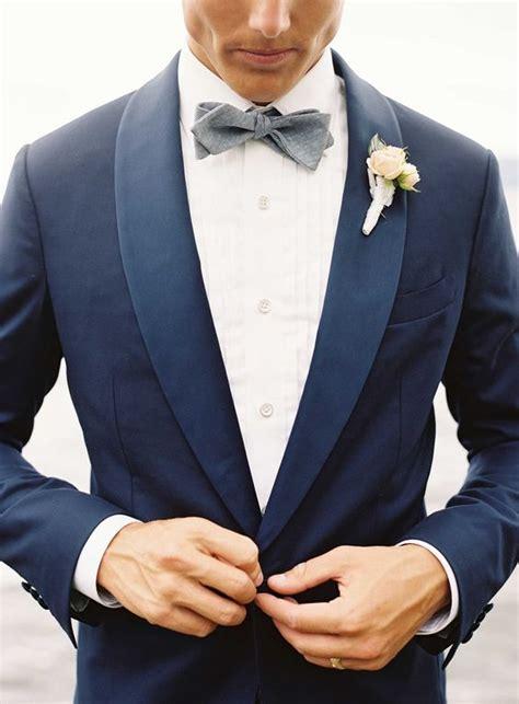 suit groom navy attire lake weddings suits grooms novio traje papillon sposo dark tie groomsmen tuxedo bow without tux marriott