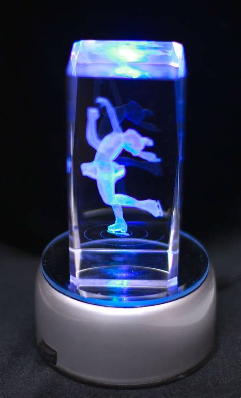 details   etched figure skater layback spin night