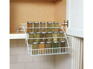 Drop Spice Rack by Rubbermaid 8020 Rd Pull Spice Rack Holder New Ebay