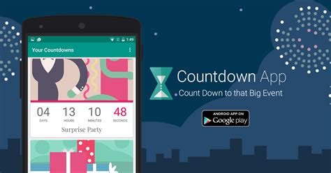 countdown app  timeanddatecom  android