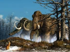 Prehistoric Ice Age Animals