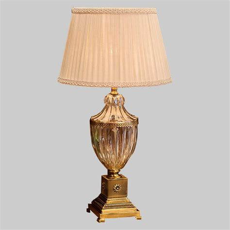 bedroom table lamp fabric lampshade living room decoration