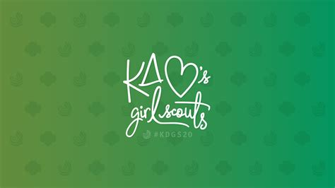 celebrate  years  kd girl scouts  graphics