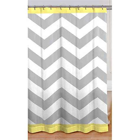 Walmart Orange Chevron Curtains by Mainstays Chevron Shower Curtain Yellow Walmart