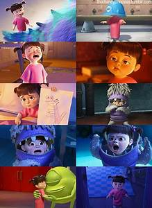 omg i love this movie monsters inc boo movies With monsters inc bathroom scene