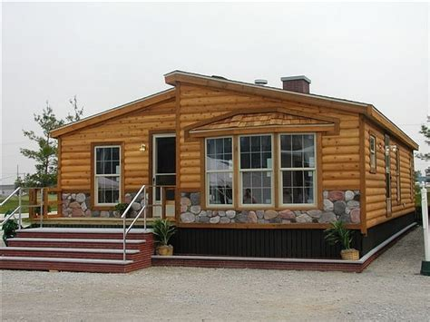 double wide log mobile home fleetwood double wide mobile homes cabin  houses treesranchcom