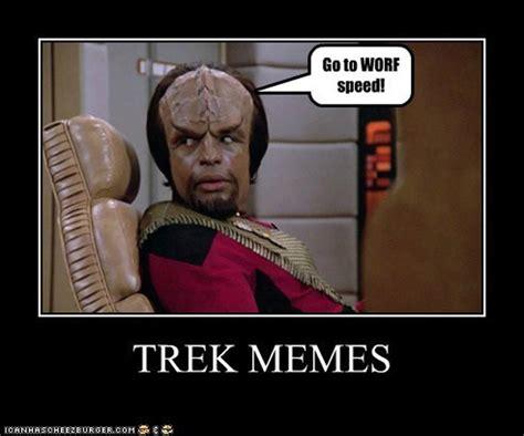 Worf Memes - star trek stars and memes on pinterest