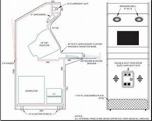 Arcade Cabinet Plans Tankstick PDF Woodworking