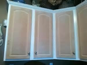Thermofoil Kitchen Cabinets Peeling The Fabulous Food S Diy Kitchen Cabinet Transformation On A Budget Amzing Before And