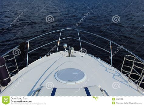 The Bow Of A Boat Where by Bow Of A Boat In Top View Stock Photo Image Of Jean