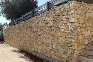Construire Un Mur En Pierre : mur en pierre jcs constructions entreprise de ~ Melissatoandfro.com Idées de Décoration