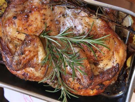 Cuisiner Un Lapin Au Four - recette de la semaine poulet rôti à l italienne et sa