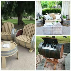Suche Günstige Möbel : weinfass stehtisch und viele andere diy m bel aus holzfass gebastelt holzfass weinfass und ~ Indierocktalk.com Haus und Dekorationen