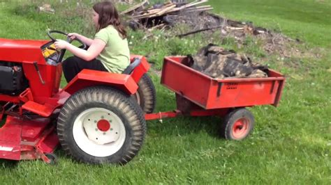 Case 448 Garden Tractor  Garden Ftempo