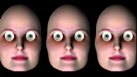 2 questions that can be. Hollow Face Illusion - Creepy Version - YouTube