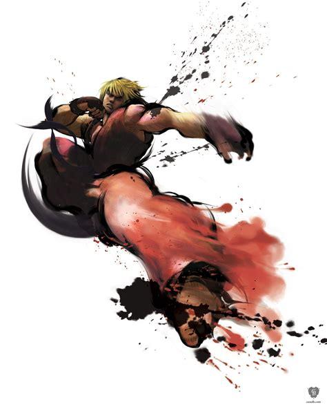 Artwork Ken Street Fighter Iv Capcom