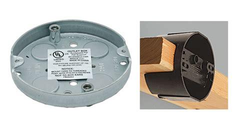 weatherproof fan rated box how to retrofit a ceiling fan electrical box fine