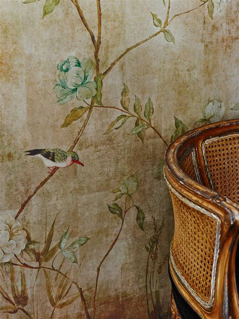 chinoiserie  sidney paul  wallpaper direct