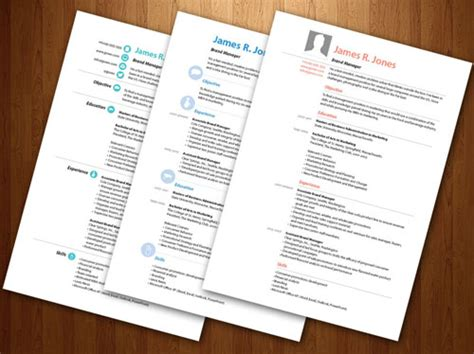 Cv Resume Templates Indesign by 8 Sets Of Free Indesign Cv Resume Templates Designfreebies
