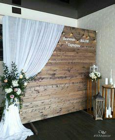diy rustic wedding backdrop dessert table backdrops