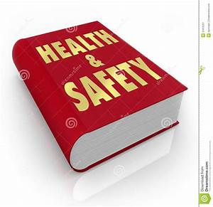 Book Of Health And Safety Rules Regulations Stock
