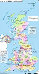 Map of the Counties in the United Kingdom. | History ...