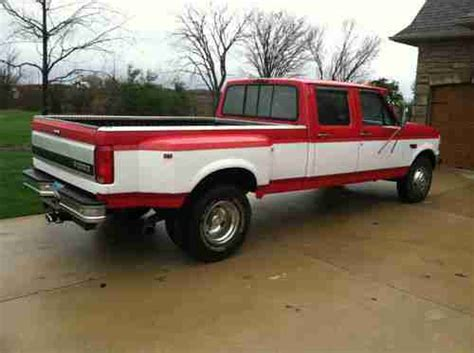 Find Used 1996 Ford F350 Crew Cab Dually 73 Liter Diesel