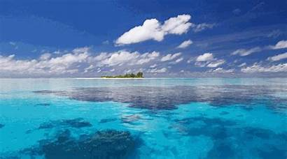 Island Floating Islands Paradise Shape September August