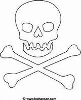 Pirate Flag Coloring Jolly Roger Printable Skull Pirates Drawing Template Pages Flags Halloween Bones Crafts Forgot Ashley American Signs Activities sketch template