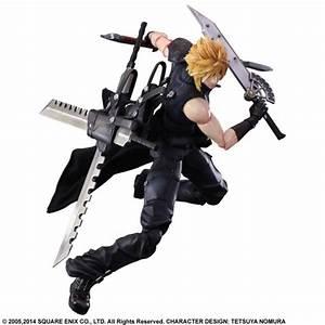 Cloud Strife Arms Himself As Final Fantasy VII Play Arts