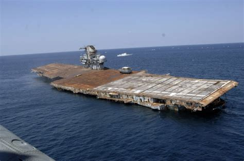 Uss America Sinking Location by Maritimequest Uss Oriskany Cv 34 Page 1