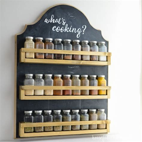 Spice Rack Plans by Wooden Spice Rack Build Plans A Houseful Of Handmade