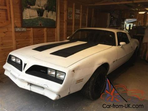 pontiac firebird v8 american classic muscle project car
