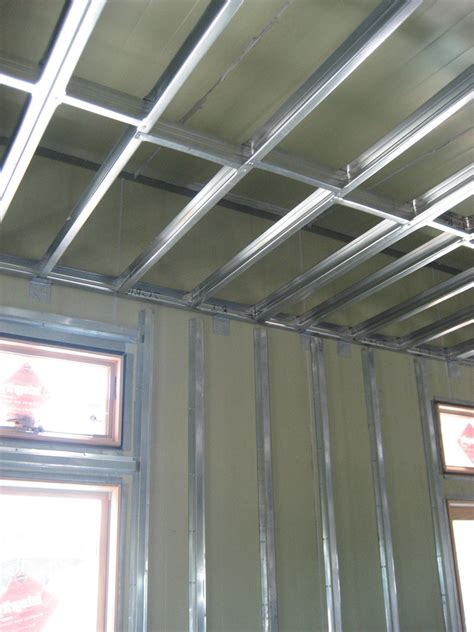 Ceiling Joist Span For Drywall by Metal Stud Ceiling Framing Details Pictures To Pin On