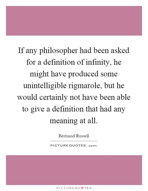 If Any Philosopher Had Been Asked For A Definition Of
