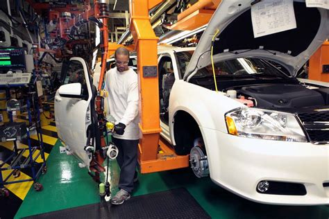 Sterling Heights Chrysler Plant by Fiat Chrysler Putting 1 48b Into Detroit Area Plant