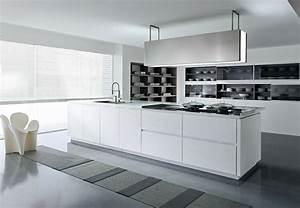 Cuisine Moderne Design : cuisine lot central 25 propositions modernes ~ Preciouscoupons.com Idées de Décoration